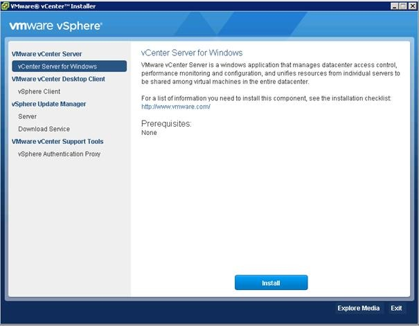 Upgrade VMware vCenter 5 x to 6 0